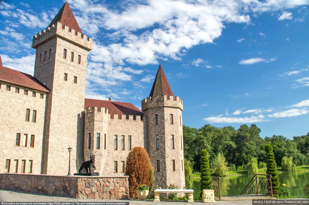Приэльбрусье. Замок возле Нальчик