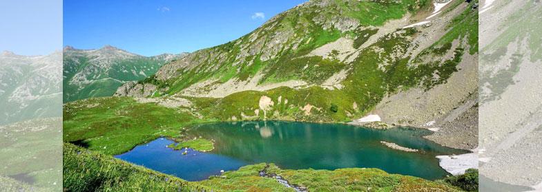 Архыз. Озера Софийского хребта
