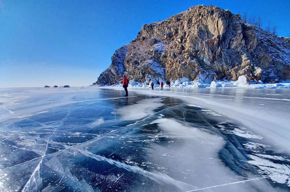 Остров Огой Байкал закат
