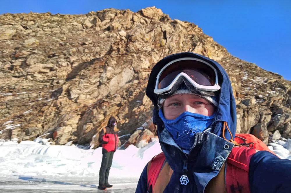 Острова Байкала Замогой зимой фото